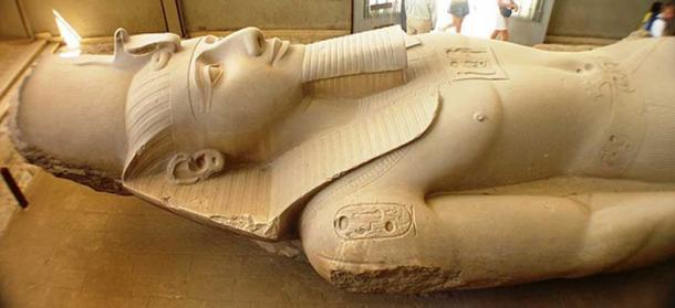 Ramses Colossus, Memphis. (CC BY 2.5)