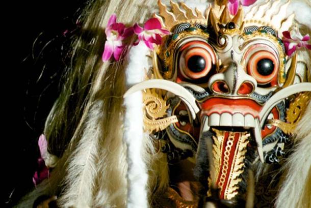 Rangda mask