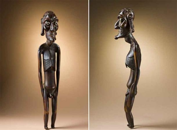 Rapa Nui ancestor figure (moai kavakava). (Public Domain)