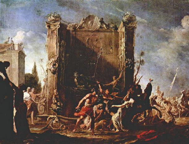 Rape of the Sabine Women. (Soerfm / Public Domain)