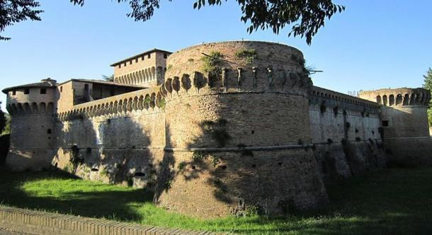 Ravaldino fortress, Forlì, Italy. The Ravaldino was one of the fortresses where Caterina Sforza battled her enemies.