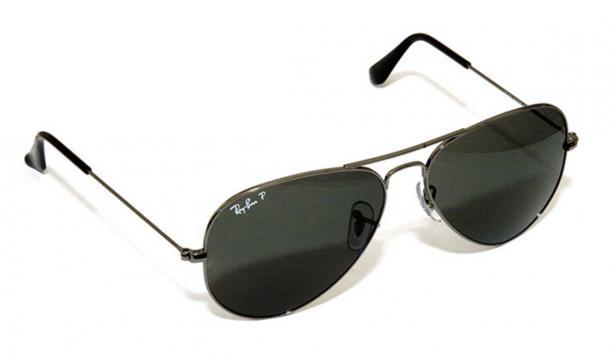 Ray Ban aviator glasses Rich Niewiroski Jr