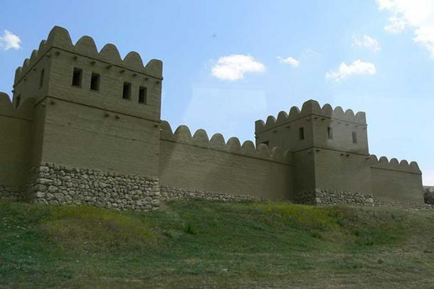 Reconstructed city wall, Hattusa, Turkey. (Rita1234/CC BY SA 3.0)