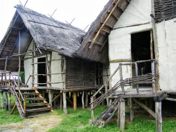 Reconstructed Terramare culture houses in Italy. (Reever / Public Domain)