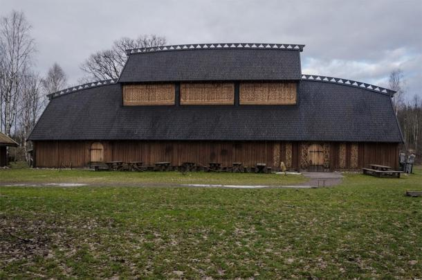 Reconstructed Viking Hall based on archeological theories and remains of such halls. (astrid westvang / CC BY-NC-ND 2.0)