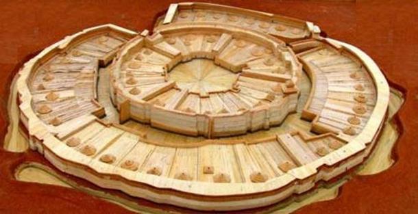 Reconstruction of Arkaim Citadel. (ancient-wisdom)