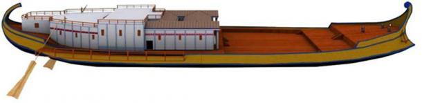 Reconstruction of Nemi Ship A.