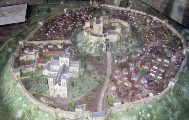 Reconstruction of Old Sarum in 12th Century