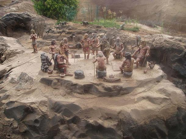 Reconstruction of a Guanche settlement of Tenerife. (R. Liebau/CC BY SA 3.0)
