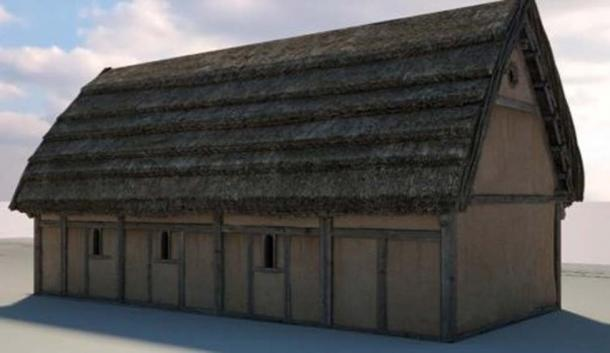 Reconstruction of the old church. Centre for the Study of Christianity, Culture University of York, Author provided