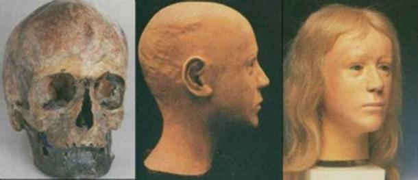 Reconstruction process of the face, by Richard Helmer