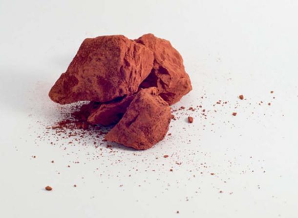 Red ochre pigment
