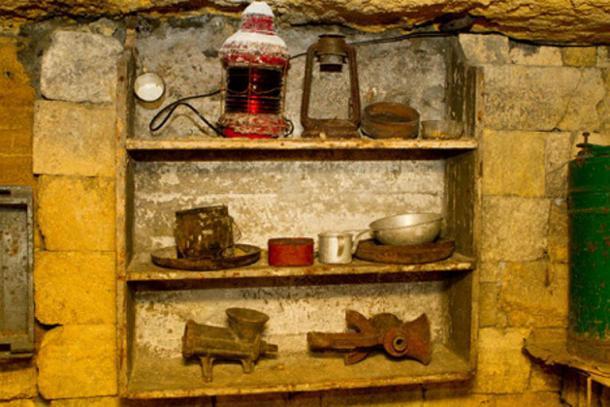 Relics of the past in the Odessa catacombs, Ukraine. (Volodymyr Khodaryev /Adobe Stock)