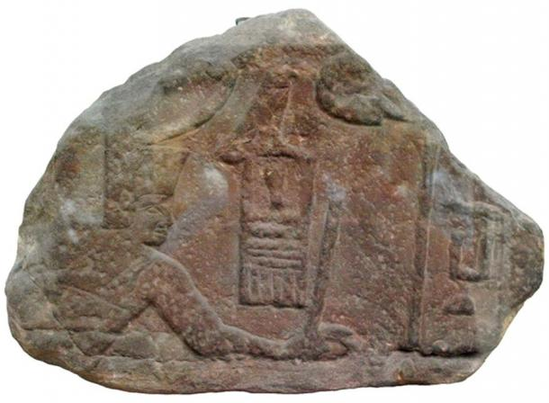 Relief fragment of Pharaoh Sa-Nakht from The British Museum