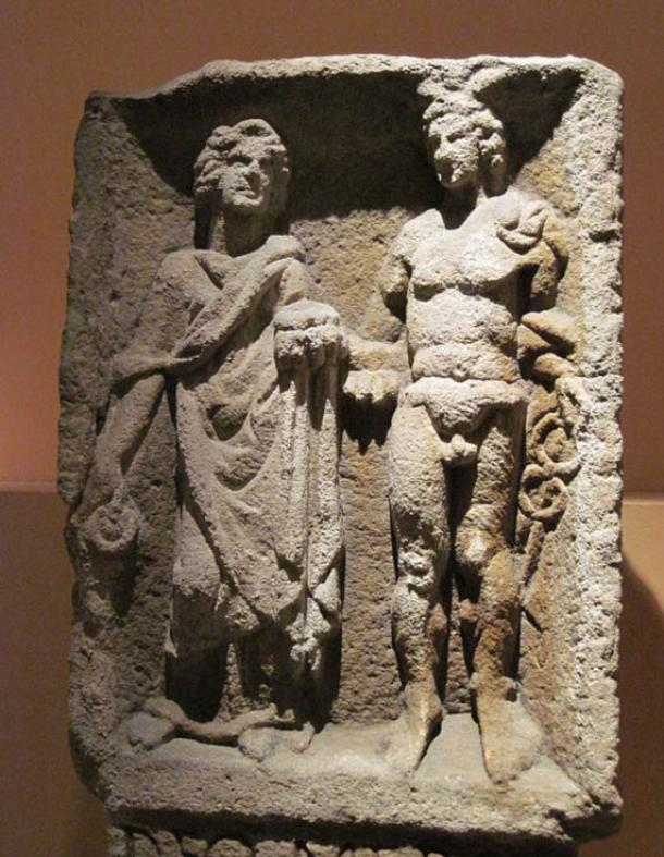 Relief of Mercury and Rosmerta from Eisenberg in present-day Rhineland-Palatinate.