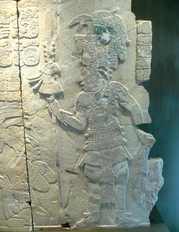 Relief of a Maya prince; researchers speculate a powerful ruler oversaw the design of the city of Nixtun-Ch'ich'.