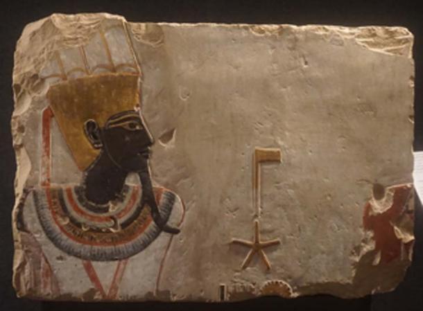 Relief of the god Amun-Min, Luxor Museum, Egypt. (Elias Rovielo / CC BY-SA 2.0)