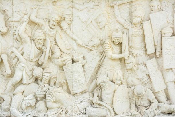 Relief of fight between Romans and Dacians (radub85/ Adobe Stock)