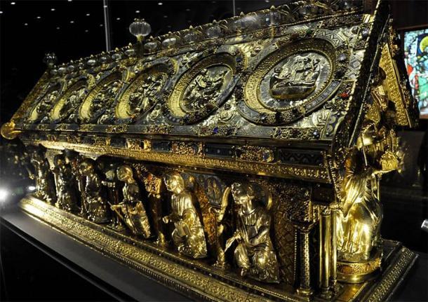 Medieval Reliquary of St. Maurus, Czech Republic. (Public Domain)