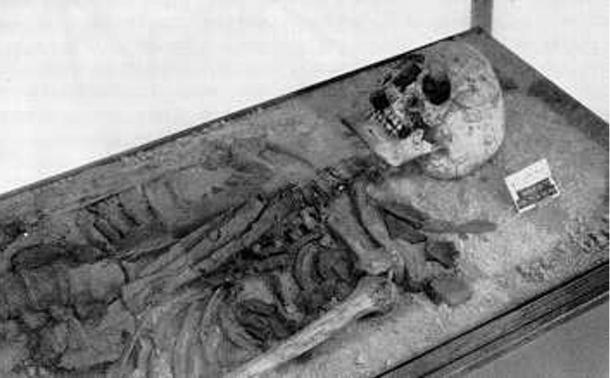 Remains of Tin Hinan