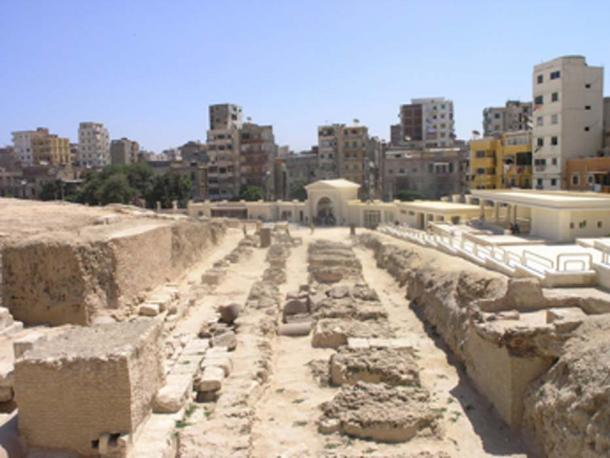 Remains of the Serapeum of Alexandria. (Mav / CC BY-SA 4.0)