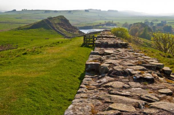 Remnants of Hadrian's Wall
