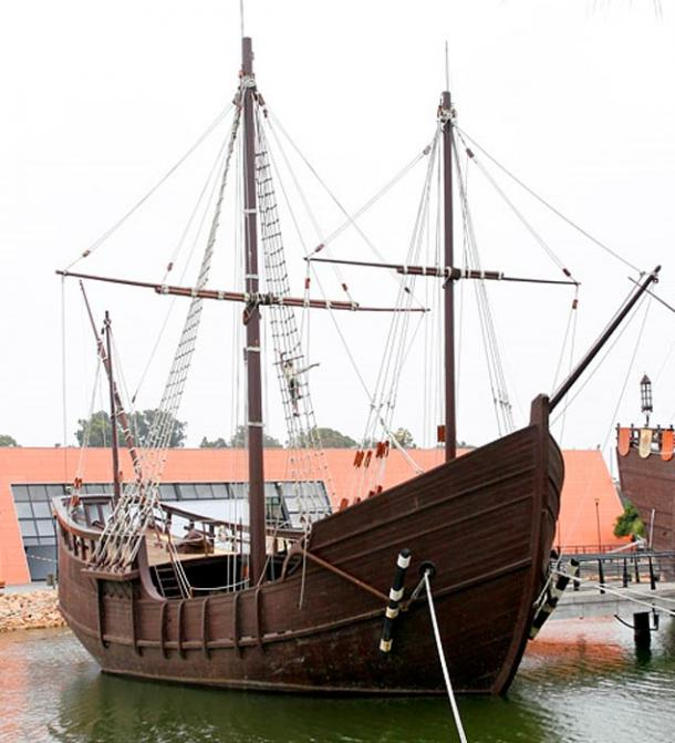 Replica of Pinta, in Palos de la Frontera.