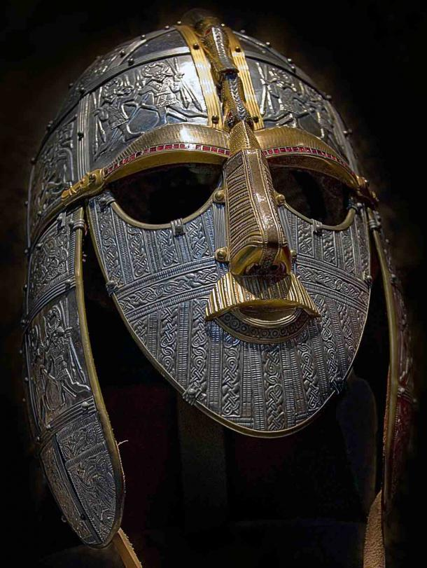 A replica of the Sutton Hoo helmet produced for the British Museum by the Royal Armouries. (British Museum / CC BY-SA 2.5)
