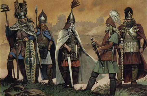 Representation of Celts