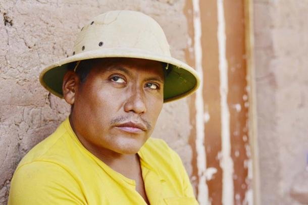 Representation of Pablo Andrade – the last remaining person who knows the Resigaro language. (ruslanita / Adobe)