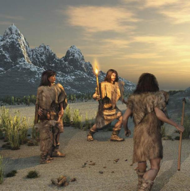Representation of archaic humans. (anibal /Adobe Stock)