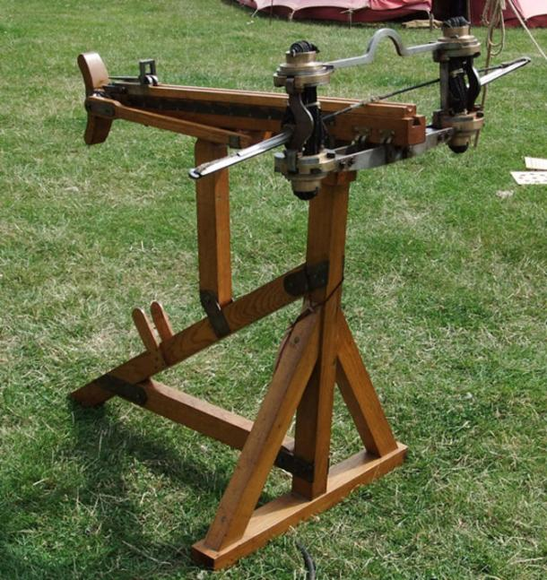 Reproduction of a Roman ballista. (fuguestock/Deviant Art)