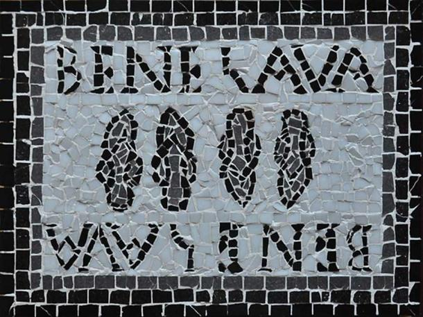 "Reproduction of a mosaic of Timgad from a men's baths ""Bene Lava"" in Algeria, by Reda Kerbouche. (Reda Kerbouche/CC BY SA 4.0)"