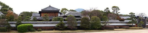 The luxurious former residence of the Hosokawa samurai clan in Kumamoto City, Japan. (Motoki-jj / CC BY-SA 3.0)
