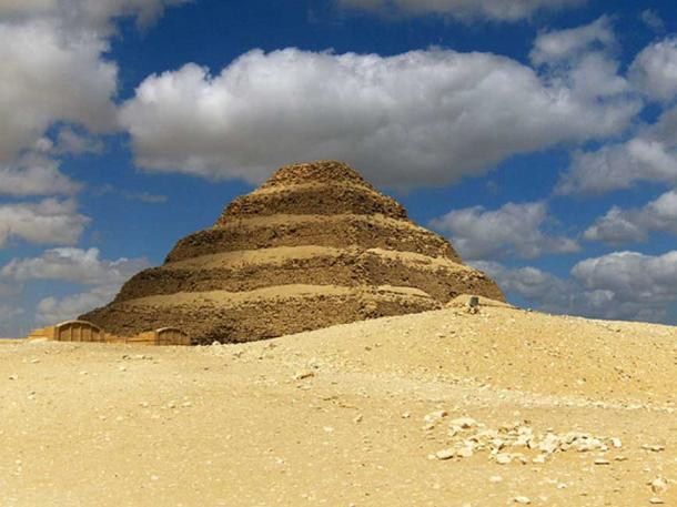 Restoration work at the pyramid of Djoser led to the find. (CC BY-SA 2.0)