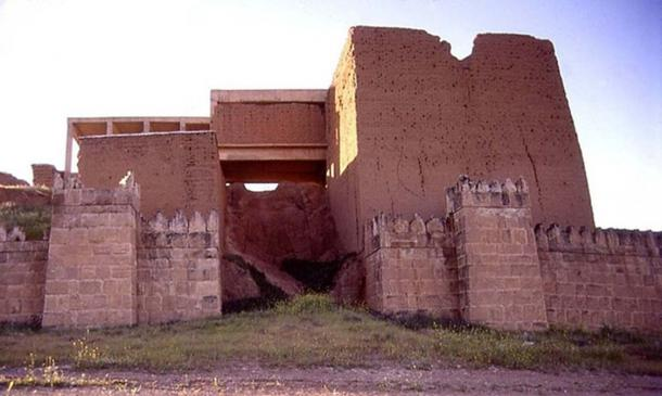 Restored Adad Gate of Nineveh.
