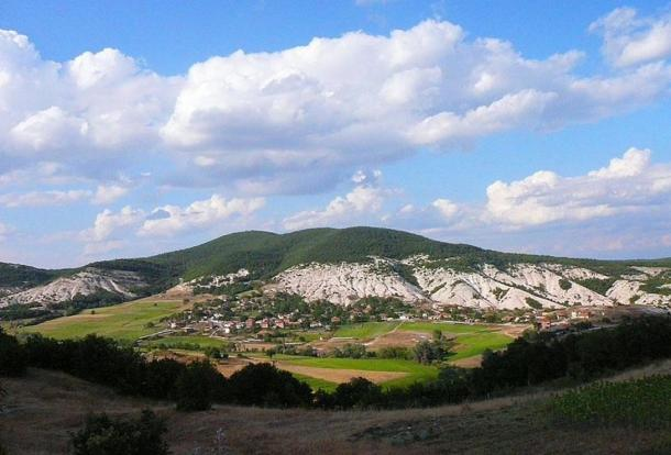 The artifact was discovered in a town located in the Rhodope Mountains (pictured), Bulgaria
