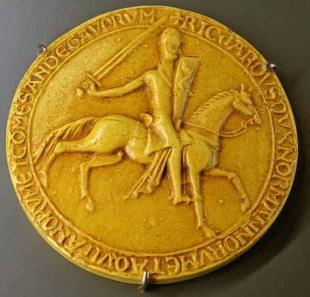 'Richard Duke of the Normans and of the Aquitanians and Count of the Angevins.'