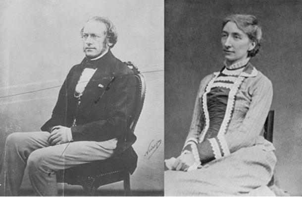 Richard (Public Domain) and Cosima Wagner. (Public Domain)