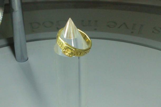 Pagan Wedding Ring 35 Nice Ring of Senicianus