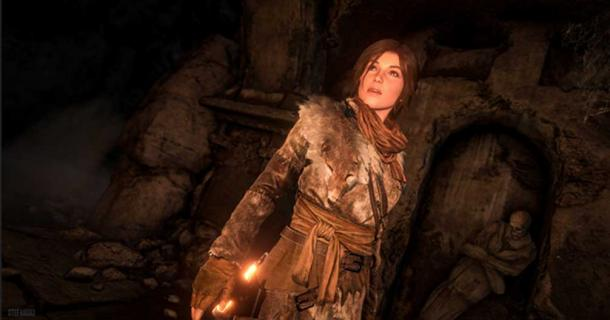 Screenshot from 'Rise of the Tomb Raider.'