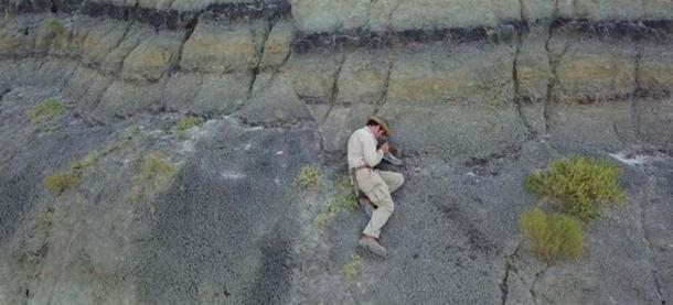 Robert DePalma is a University of Kansas doctoral student in geology. (Robert DePalma / The University of Kansas)