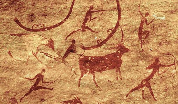Rock Art of the Tassili n`Ajjer, Jabbaren, Algeria.