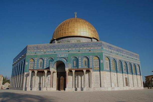 The Dome of The Rock Mosque, in the temple mount, Jerusalem, Israel (Wikimedia Commons)