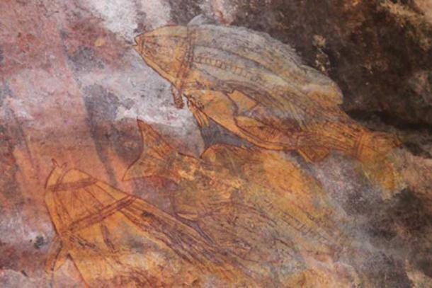 Rock art at Ubirr (CC BY 2.0)