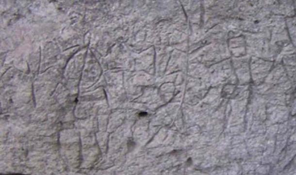 Rock carvings (petroglyphs) from the Philippines. Photo Lloyd Intalan, 2005. The carvings pictured are located at Angono in Rizal, Philippines. (LFIntalan/CC BY SA 3.0)