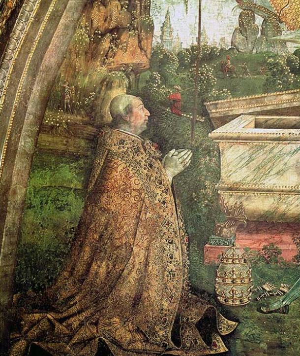 Originally Rodrigo Borgia, Alexander VI came from a Spanish noble family prominent in both ecclesiastical and political affairs
