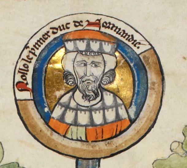 Rollo, Duke of Normandy. (Public Domain)