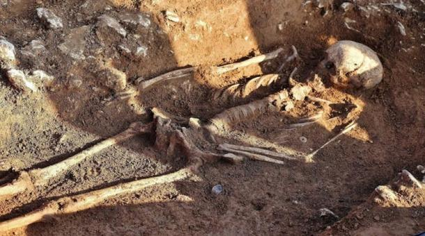 Skeleton of 'Witch who Turned Men to Stone' Unearthed in England