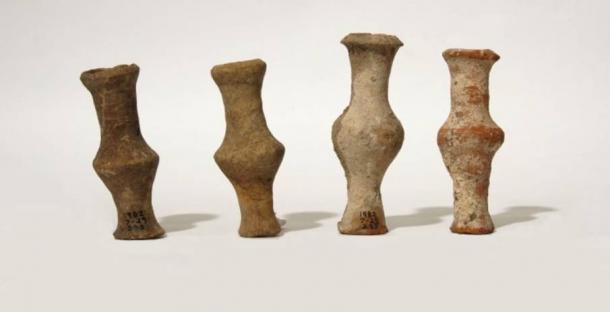 Roman Terracotta Unguentaria, fourth century B.C.